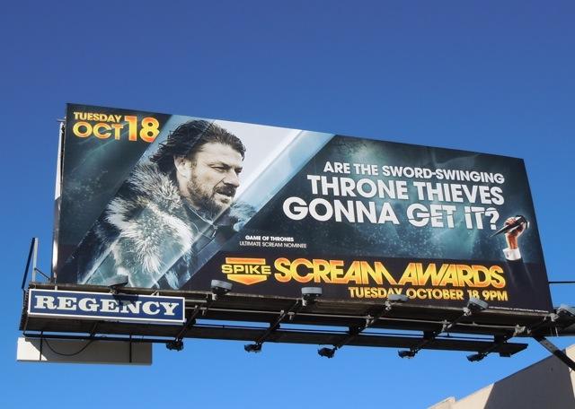 Scream Awards 2011 billboard