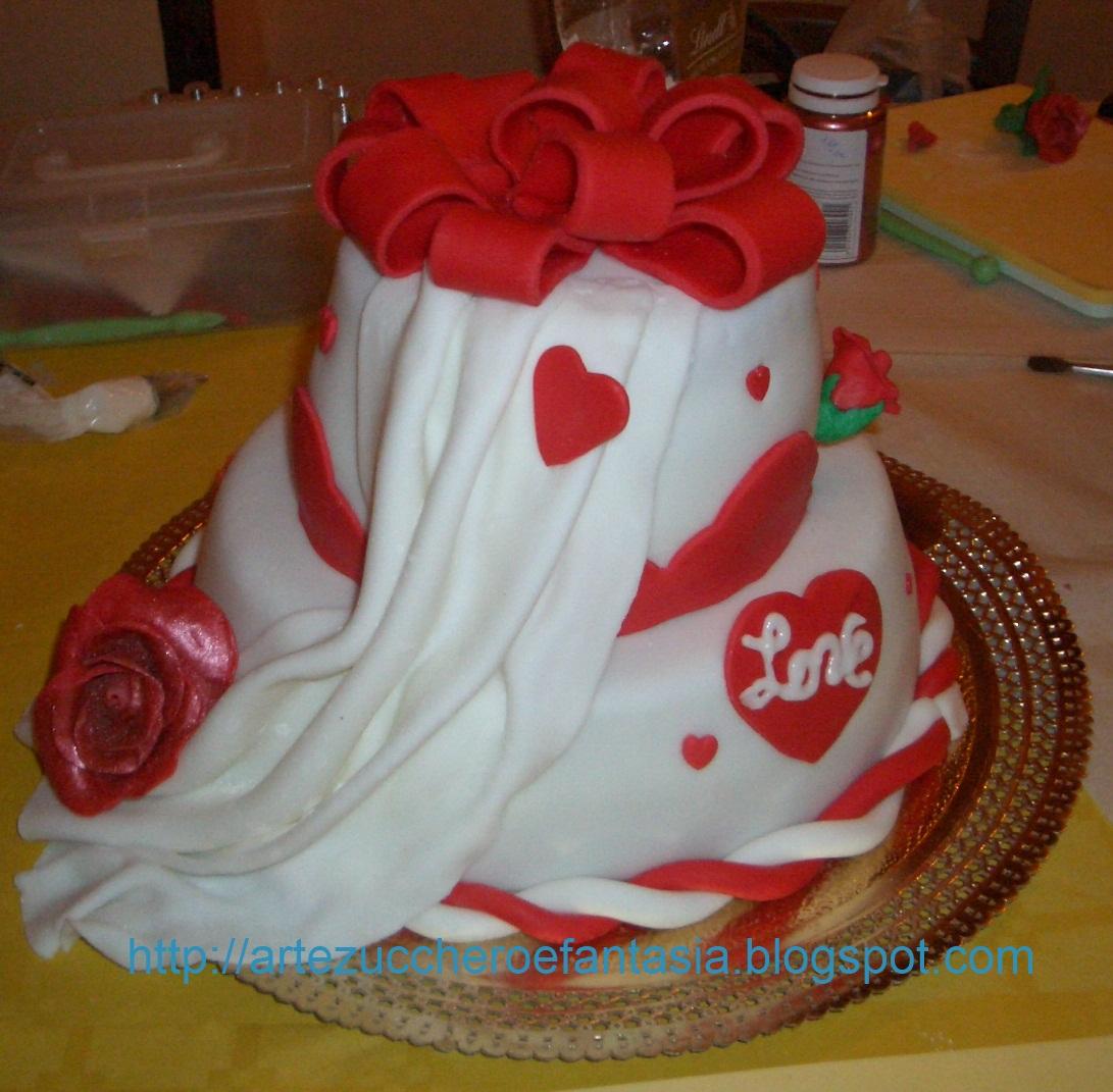 Arte zucchero e fantasia corso base decorazione torte for Decorazione torte karate