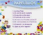 CUENTOS PAPELILLOS 5-6 AÑOS