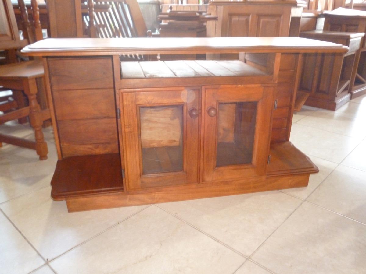 Amueblar mesa de telefono y tv for Mesa algarrobo usada