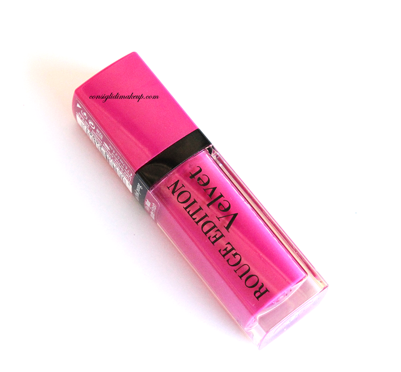 Review: Rouge Edition Velvet nr 06  Pink Pong - Bourjois