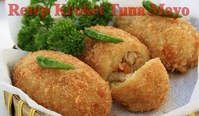 Resep Kroket Tuna Mayo