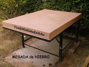 MESADA DE HIERRO