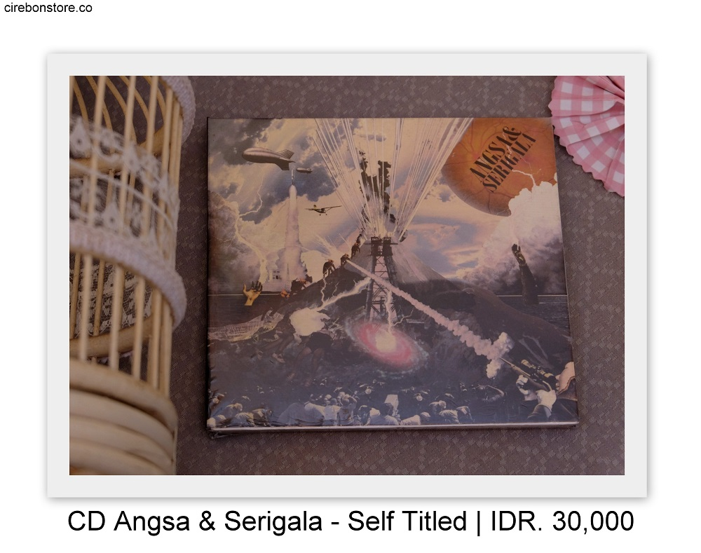 CD ANGSA & SERIGALA - SELF TITLED