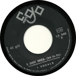 i vocals il cuore brucia CGO 1970