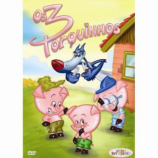 Cine Pipoquinha com os 3 Porquinhos