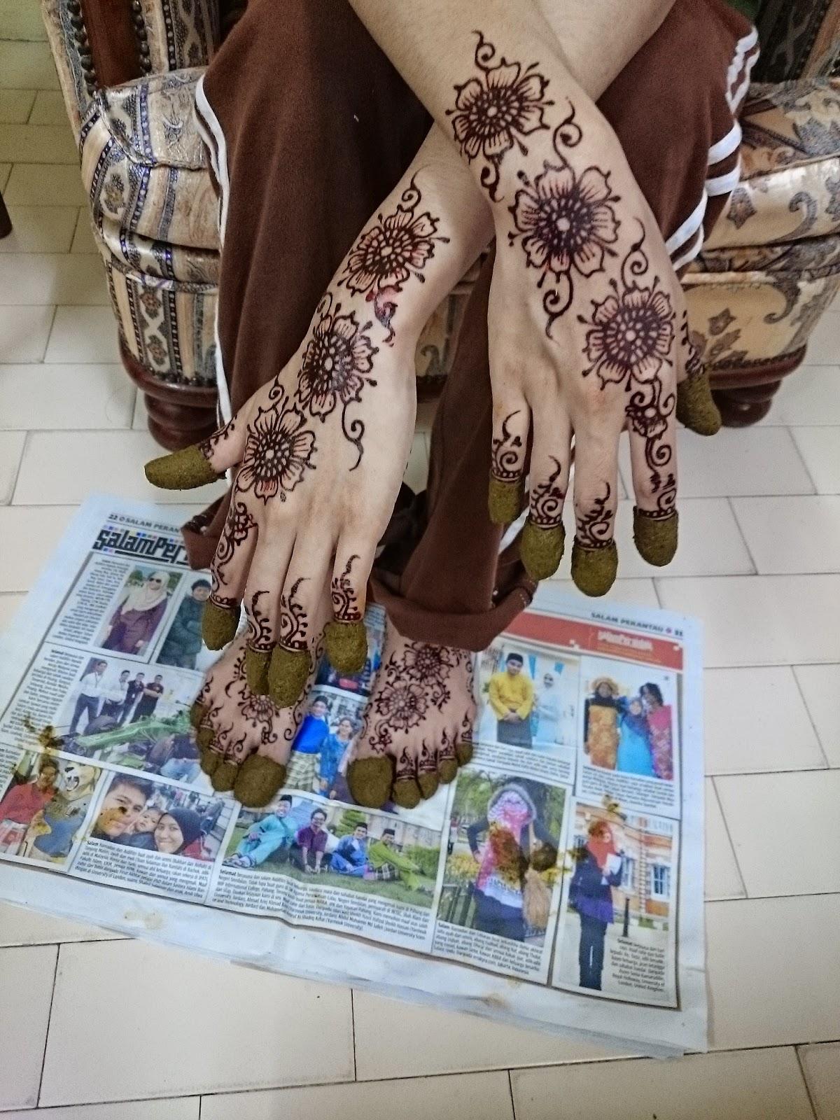 Ikha Henna Artist Inai Tradisional VS Moden Job Inai Henna