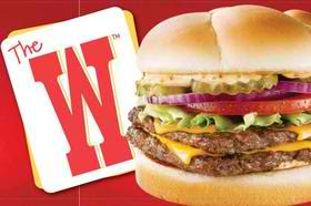 Free W Double Cheeseburger at Wendy's