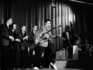 Elvis on Ed Sullivan via musicalbites.com