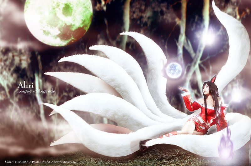 CosRain.Com Neneko's COSPLAY - League of Legends