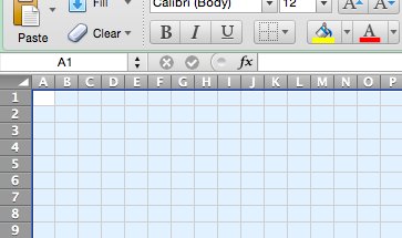 how to make cell colours darker on excel spreadsheet