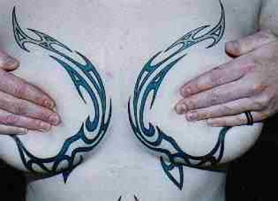 girl hot her breast to hid her tattoos booms