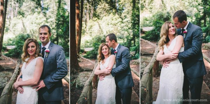 Stern Grove Wedding San Francisco bride and groom photos