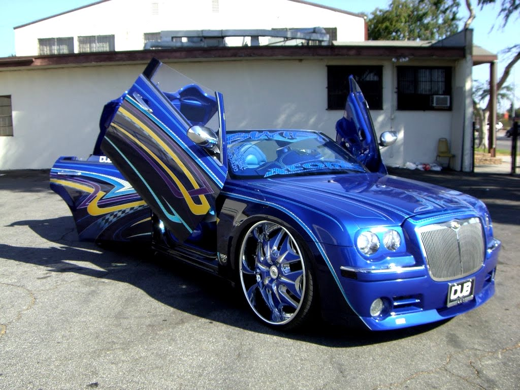 Chrysler 300c dub and tuning wallpapers carros