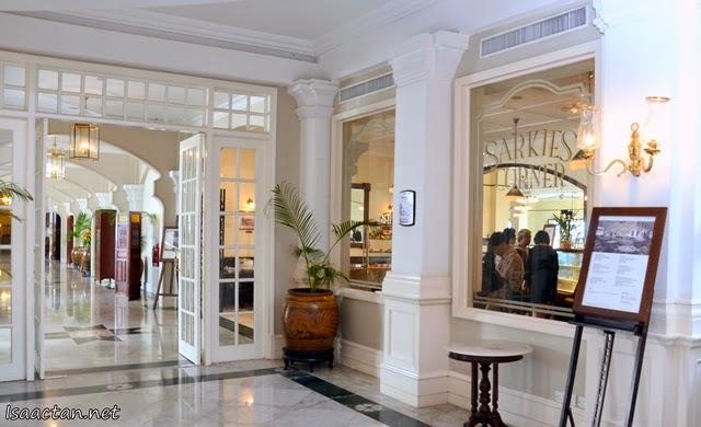 Sarkies Corner @ E&O Hotel, Penang