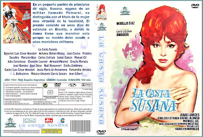 La casta Susana 1963 | Caratula - Marujita Diaz - Cine clásico español