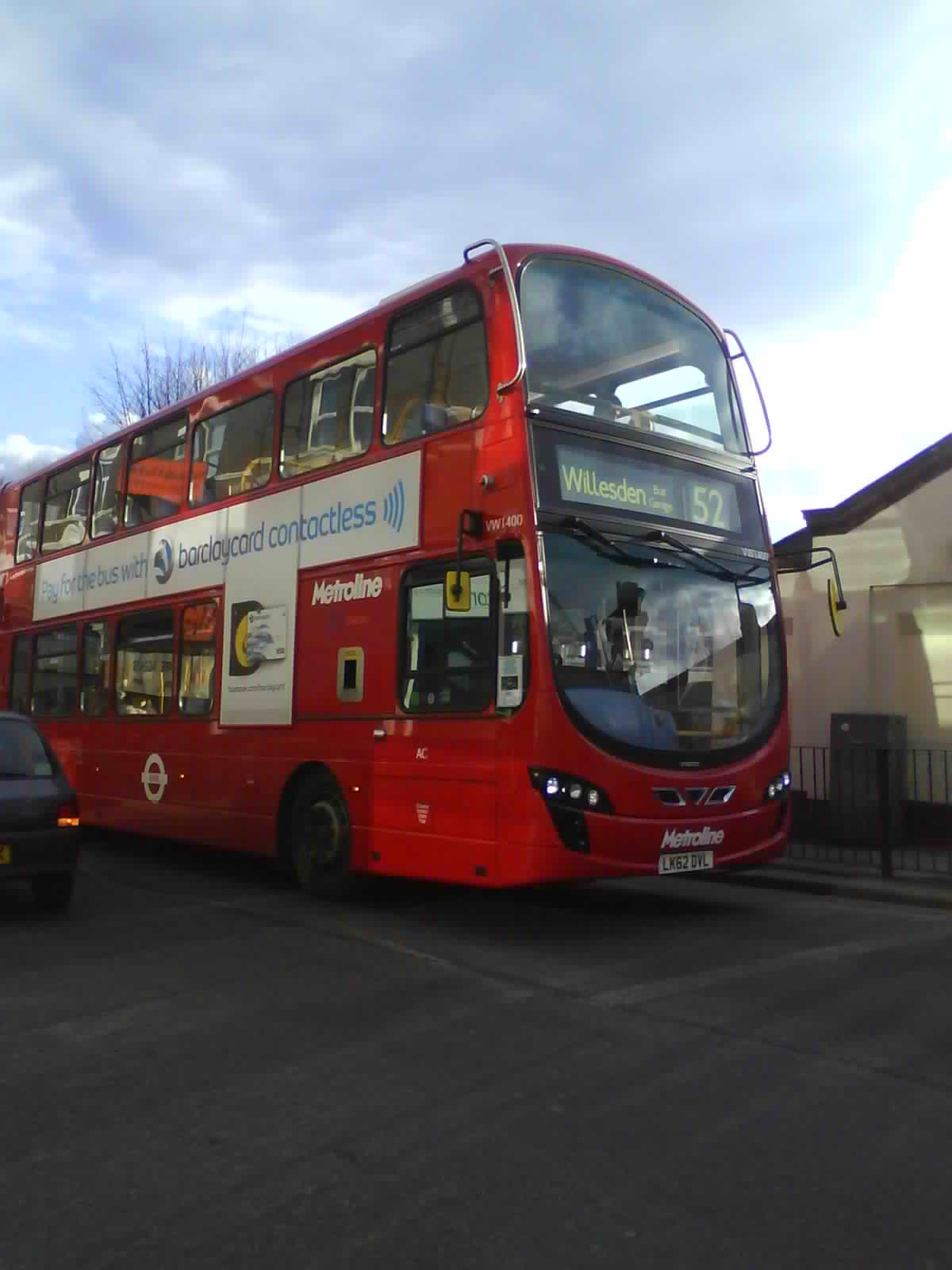 London Connected New Route 52 S Buses Part 1