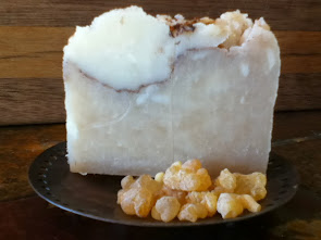 Frankincense and Myrrh soap.