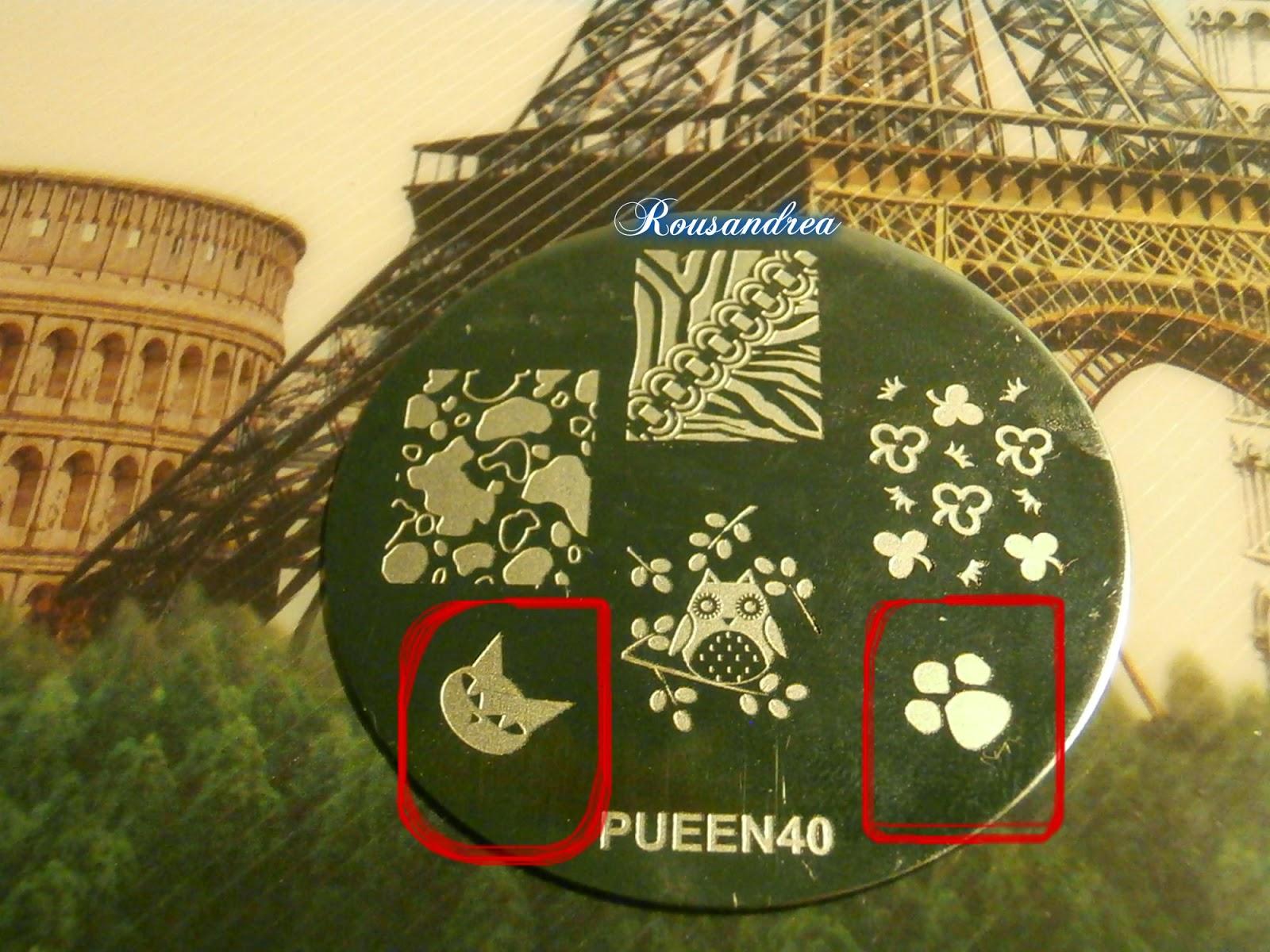 El cajon de los esmaltes de rousandrea: Manicura HUELLAS con ...
