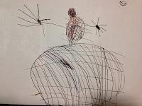 snowman drawing, kindergarden art, kindergarten art, snowman, Christmas