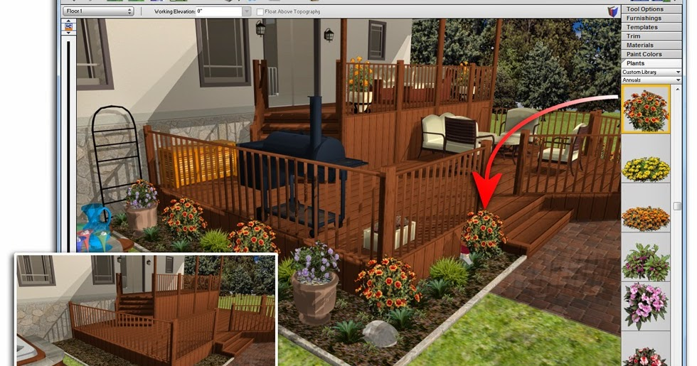 Software downloads download punch architectural series 17 5 for Home landscape design architectural series v17 crack