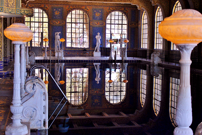 Roman Pool-Hearst Castle