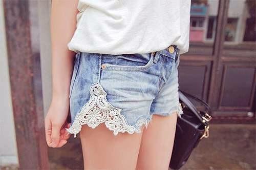 Шорты из джинсы своими руками