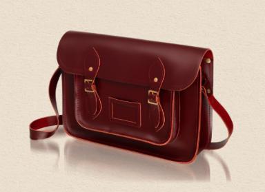 saddle leather satchel