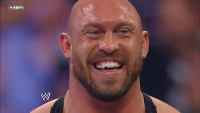 WWE Ryback smiling big guy