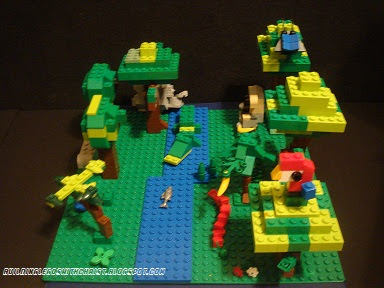 Rainforest Lego Animal Creations