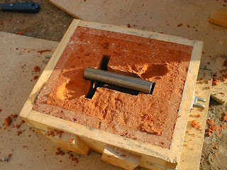 facing sand used in molding sand in foundry manufacturing workshop