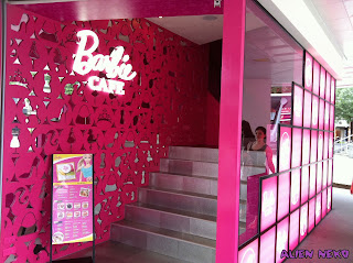 Barbie Cafe Taiwan Entrance