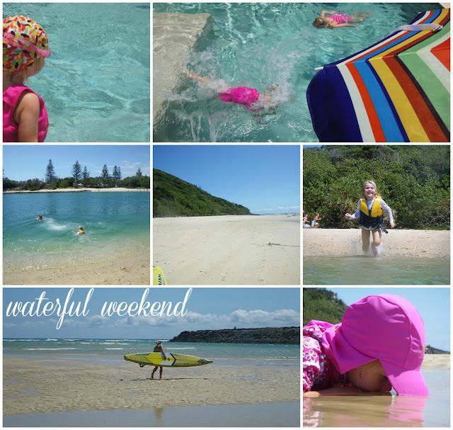 beach - A waterful weekend!