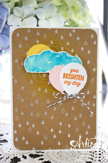 You Brighten My Day Card ~ Susan Wong