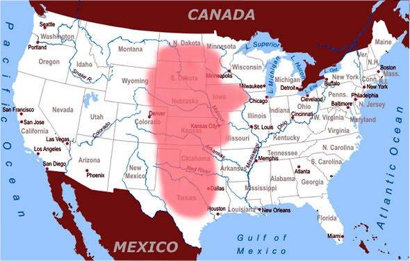 Geography 12 Rocks Tornado Alley