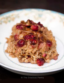 Pumpkin Oatmeal Casserole, Clean Eating, Pumpkin, Oatmeal