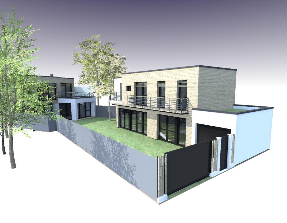 Maison Bois A Vendre - 2 maisons ossature Bois Le Plessis Robinson, maisonà vendre