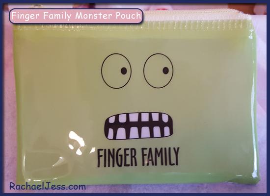 Finger Family Monster Pouch