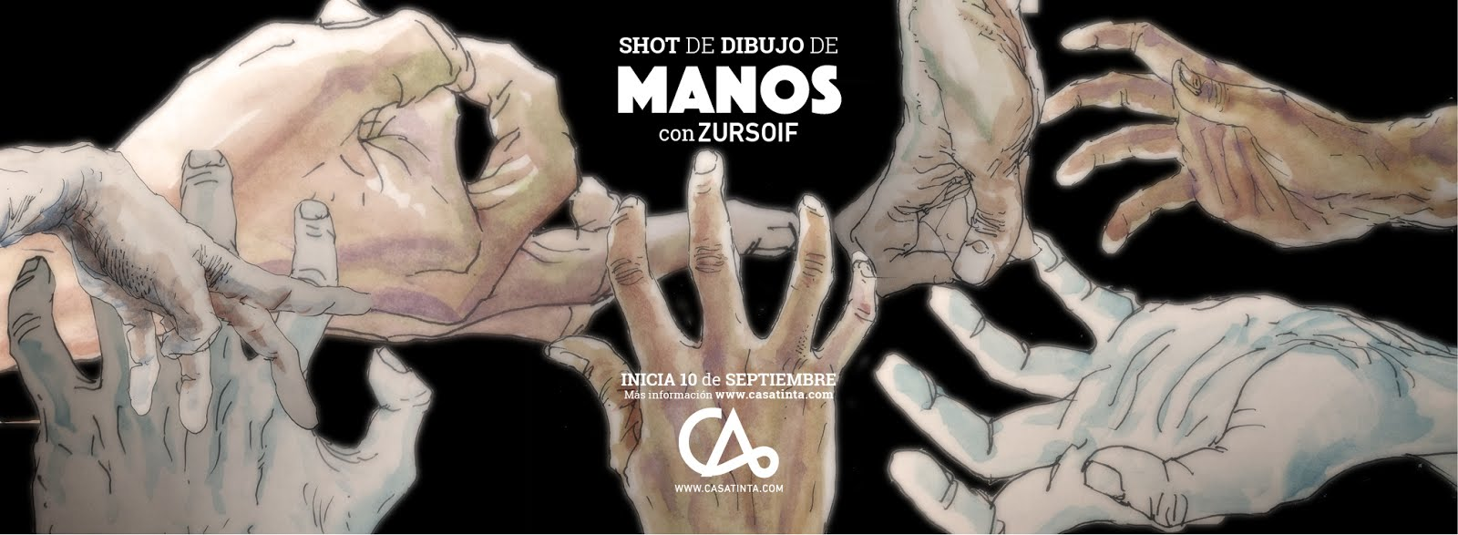 SHOT DIBUJO DE MANOS // 10 sept