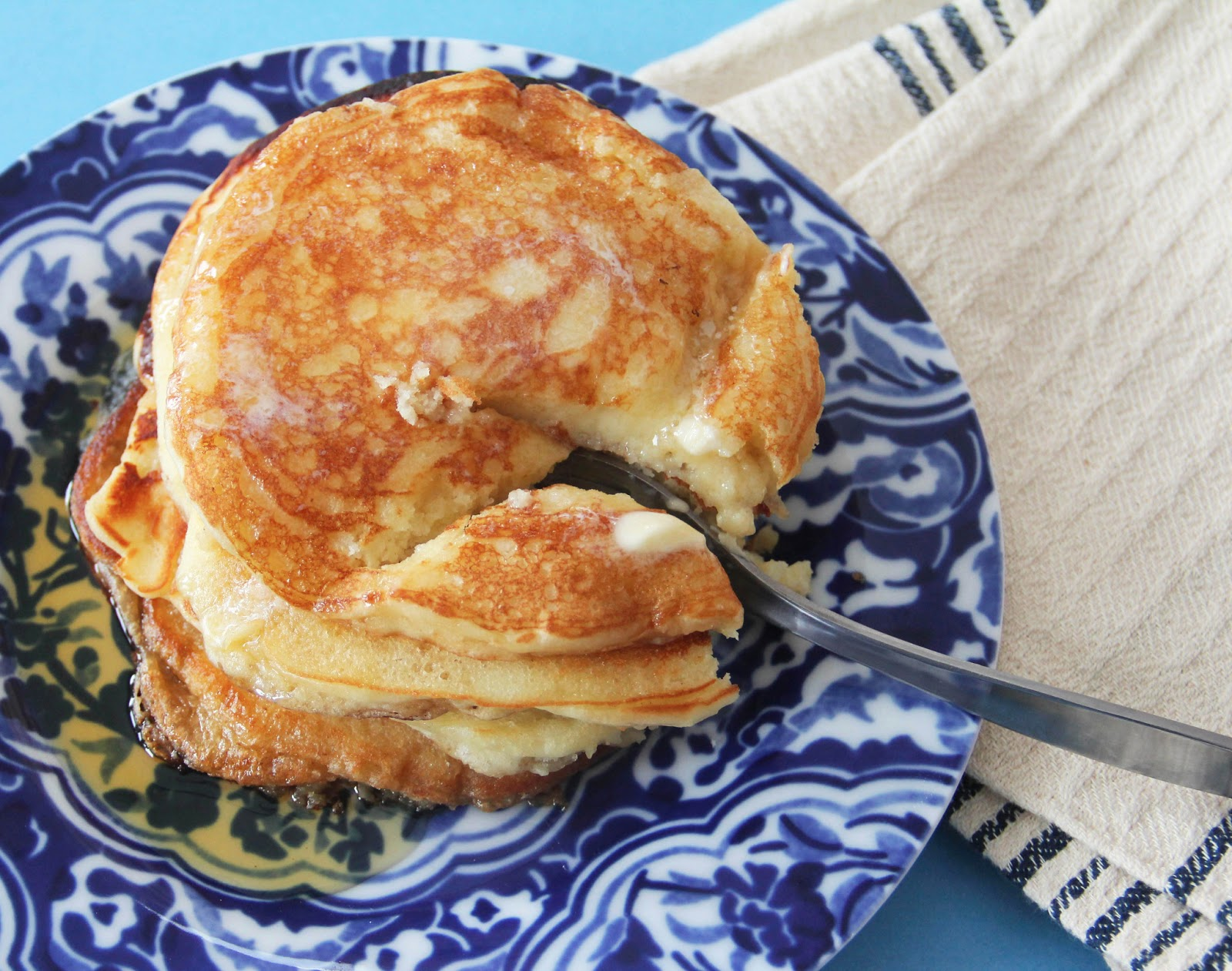 Perfect Classic Pancakes - Grandbaby Cakes