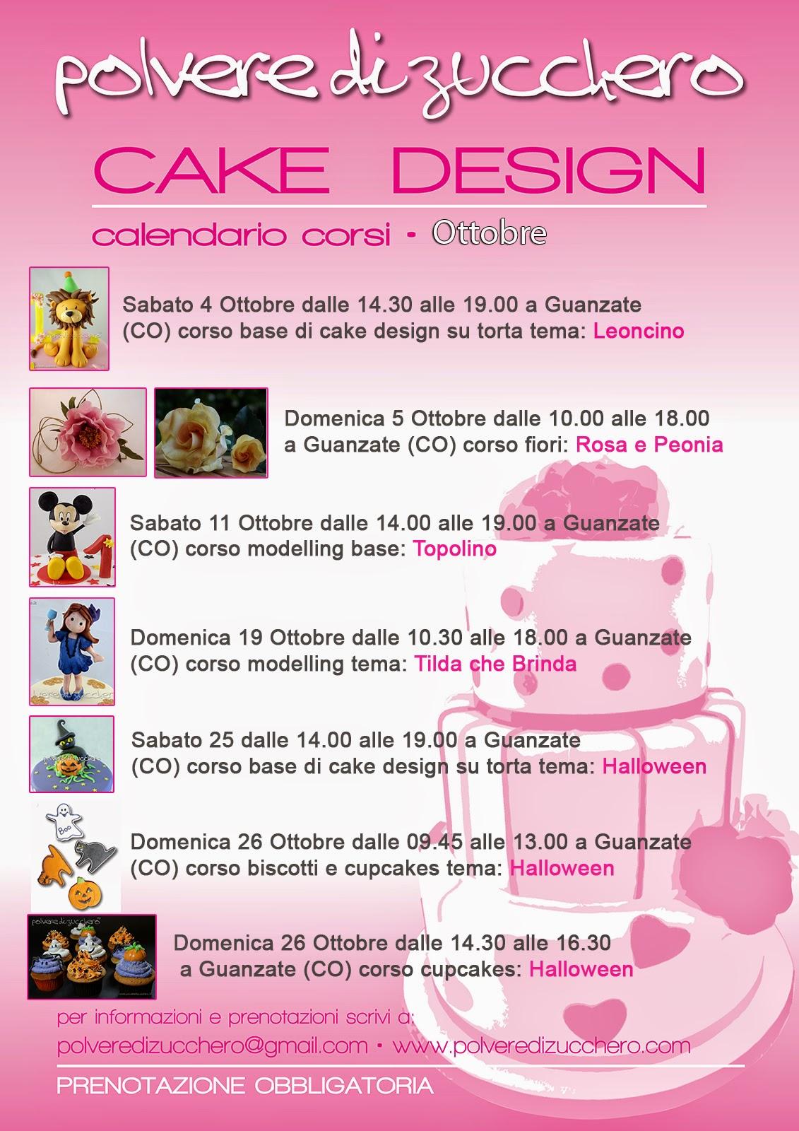 corsi cake design lombardia ticino saronno varese legnano como 2014