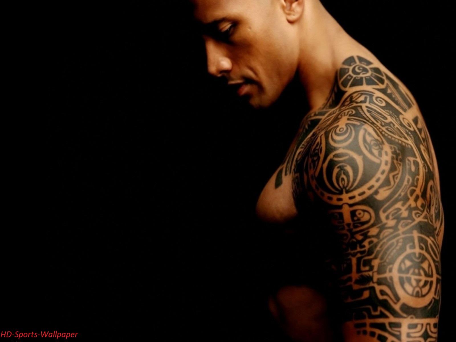 The Rock HD Tattoo