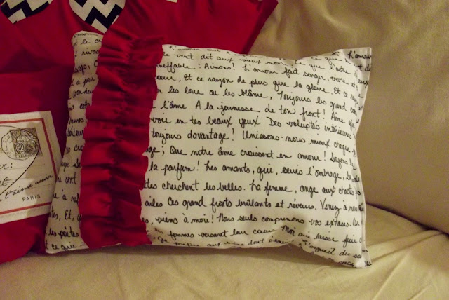 Poetry Pillow {Always Something}
