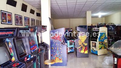 www.arcadevintage.es, galaga, defender, pinball, pinballs, petacos, flipper