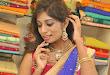 Mounika Reddy Glam pics in Half saree