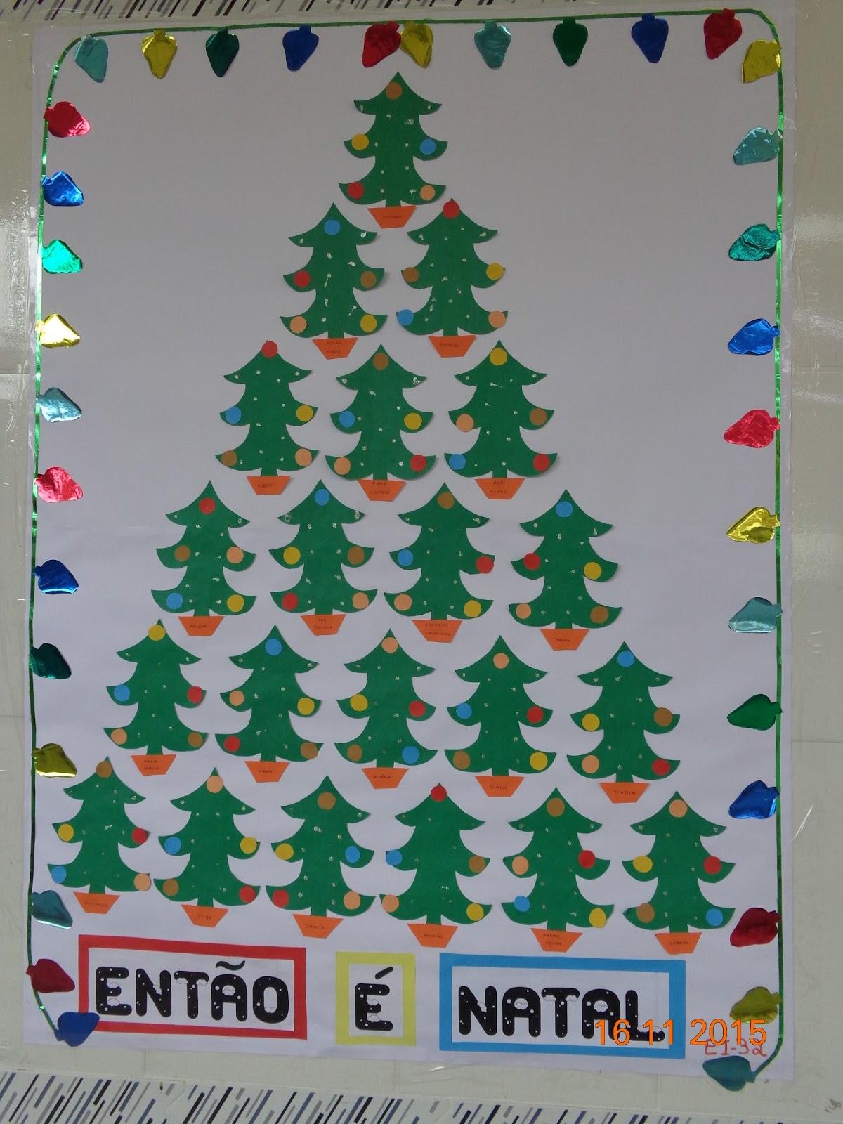 Edi professora enyr portilho de avellar decora o de natal for Addobbi natale scuola infanzia