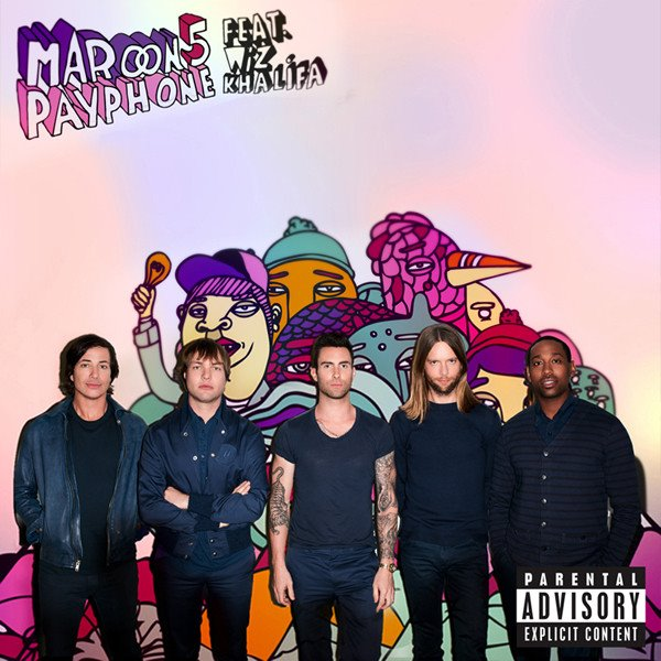 Payphone Artwork - Maroon 5 ft. Wiz Khalifa