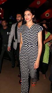 Deepika Padukone and Ranveer Singh visits Ram-Leela Theatre