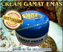 Cream gamat  gold-krim ajaib memutihkan wajah alami aman merawat rupa