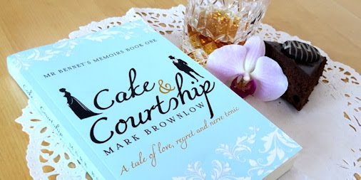 Cake and Courtship by Mark Brownlow - Blog Tour